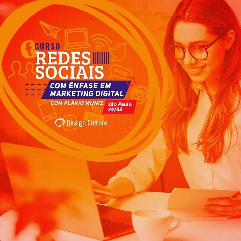 Curso de redes sociais da design culture