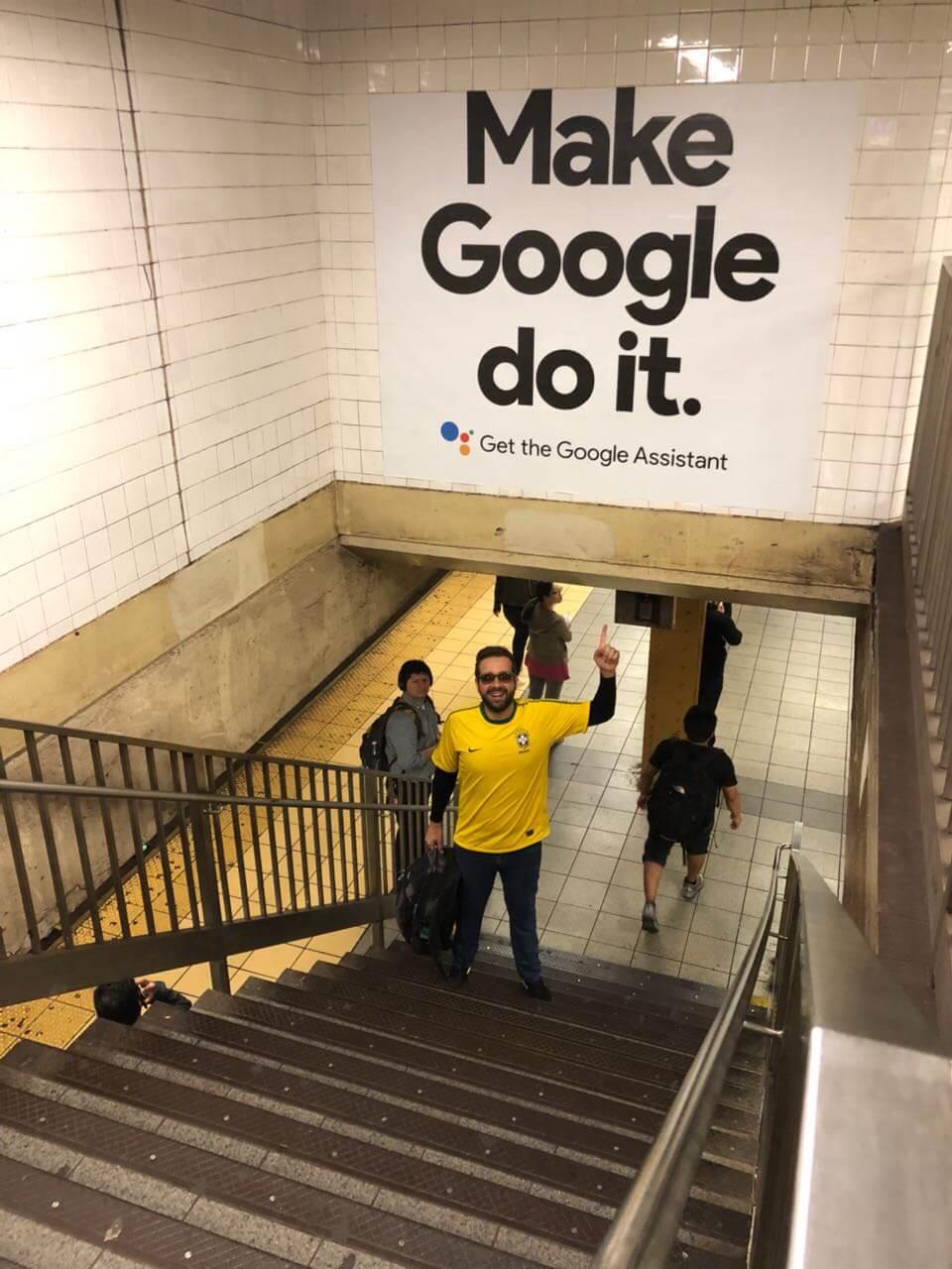 Flávio Muniz visita o Google