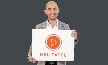 Melhores Consultores em Marketing Digital - Neil Patel.
