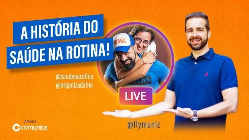 Sucesso nas redes sociais - Saúde na Rotina - Flávio Muniz entrevistou Diego e Dafne sobre a história do canal