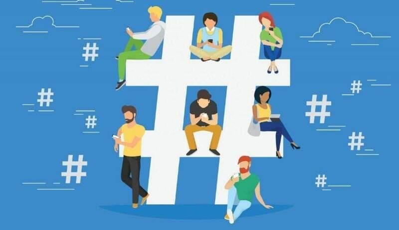 Melhores Hashtags de Marketing Digital