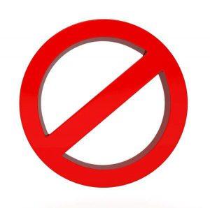 Melhores Hashtags de Marketing Digital - hashtags proibidas